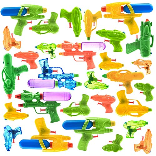 30 Piece Water Guns Pool Water Shooters and Water Blasters Combo Set of Water Squirt Toy