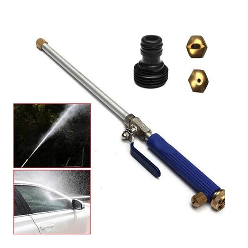 Finedayqi ???? Pressure Power Washer Spray Nozzle,Garden Hose Wand for Car Washing and High Out