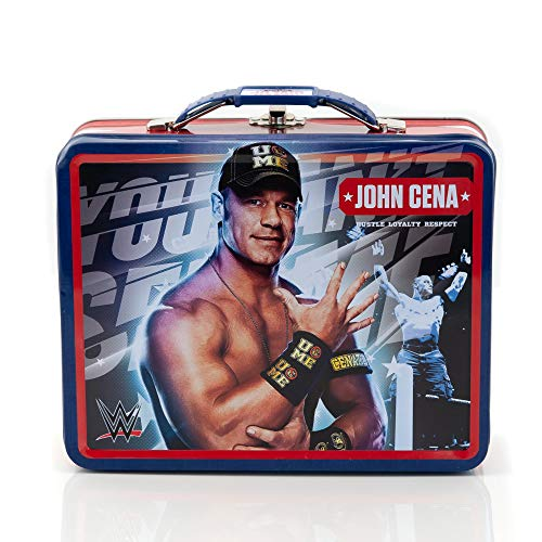 "Tin Lunchbox Featuring WWE Superstar Wrestler John Cena Made by ""The Tin Box Company"""