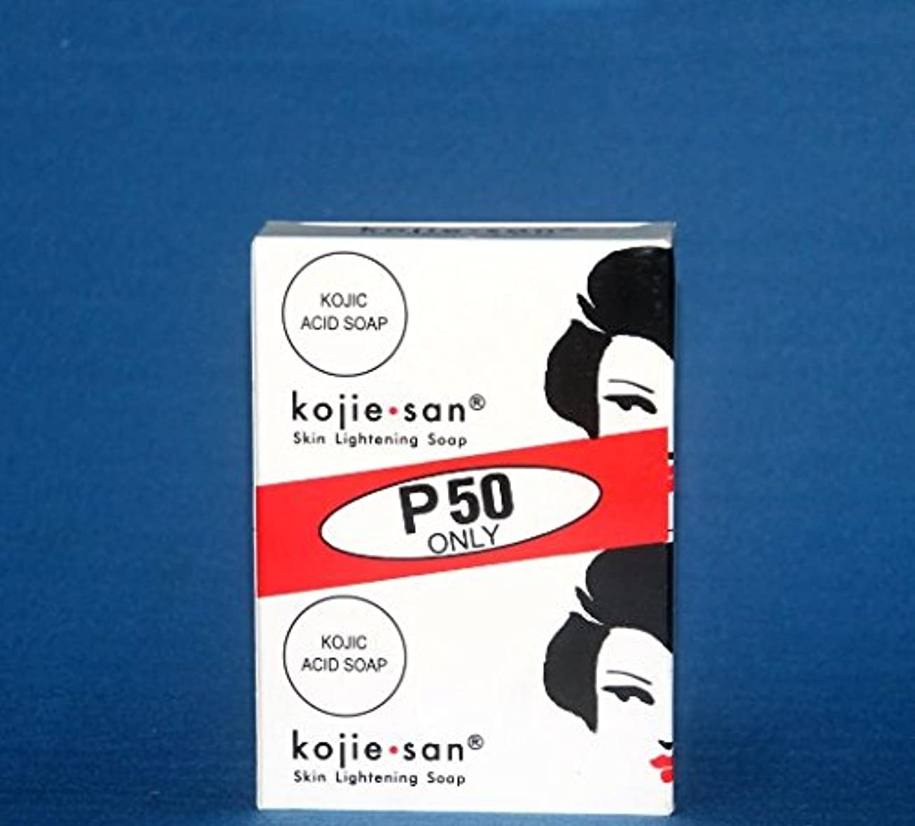 意外折るライムKojie san Skin Lightening Soap 2 pcs こじえさん スキンライトニングソープ 2個 パック [並行輸入品]