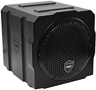 Wet Sounds Stealth AS-8 350 watt Active Subwoofer Enclosure (Renewed)