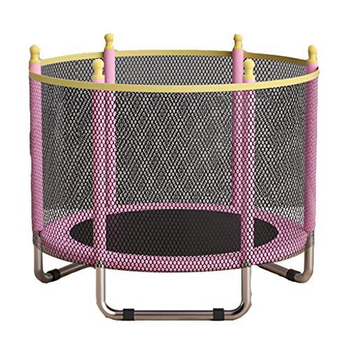 Cama para Bebé Trampolín Casero Trampolín para Niños Trampolín De Fitness para Adultos Cama De Salto con Red De Protección Trampolín Plegable Plegable Trampolín Mudo