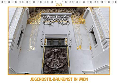 Jugendstil-Baukunst in Wien (Wandkalender 2021 DIN A4 quer)