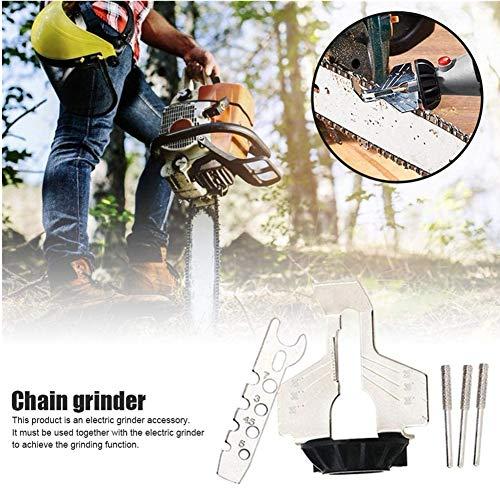 Kettingzaag Slijpen Tool Elektrische Grinder Accessory Kit Chain Saw Sharpener voor de beste slijphoek - Kettingzaag slijphulpstuk