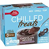 Betty Crocker Chilled Treats, Chocolate Mousse Mix with Chocolate Ganache Topping, 8.9 oz