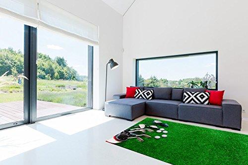 Alfombra Golf cesped PVC 95 cm x 120 cm | Moqueta