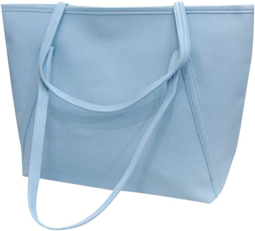 Peigen Women Tulsa Mall Solid Simple Popularity High Totes Messenger Handbag Capacity