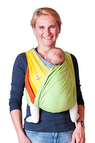 Babytuch - das Tragetuch ohne Knoten (6, Maigrün)