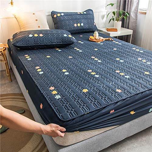 unknow Bed Sheet, A Single Piece Of Pure Cotton Waterproof Bed Sheet, Cotton Thick Bedspread, Dust Cover, Breathable Mattress Cover