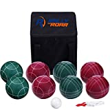 Bocce Ball Game Set for Adults, Families – 90 mm - Complete Bocce...