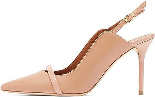 LFF.FF zapatos de tacón Alto para mujer, Sandalias - Puntiagudos - rocío - tacón Alto zapatos Mules - tacón Muy Alto (8 cm o más),42