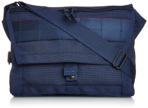 "(ビームスプラス) BEAMS PLUS / BRIEFING×BEAMS PLUS / 別注 ""Fleet Messenger Bag""NAVY 11610949106 79 (NAVY/ONE SIZE)"