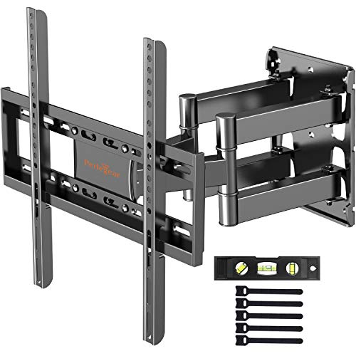 "Soporte de TV Pared Articulado Inclinable Y Giratorio – Soporte De TV para Pantallas De 26""-55"" TV, MAX VESA 400x400mm, para Soportar 40kg, Nivel De Burbuja Incluidos"