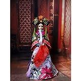 HEEGNPD Regalos Hechos a Mano 32cm de Colección China muñecas de época Qing dinastía Princesa consorte muñecas Serie Donggo niña Juguetes