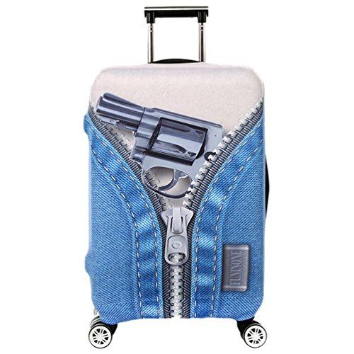 YiJee Bagagli Valigia Copertura Borsa Protettiva Cover Proteggi per Suitcase Come I'immagine 4 M