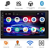 WZTO Double Din Car Stereo with GPS Navigation,7 inch Quad-Core Android 9.1 Touch Screen...