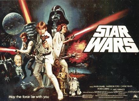 Star Wars Postkarte (15cm x 10cm)