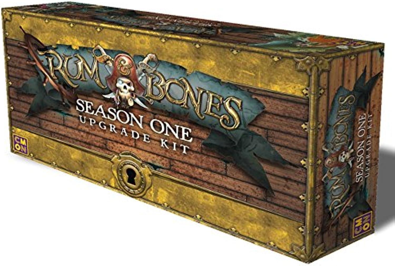 Cool Mini or Not Rum & Bones Season One Upgrade Kit Strategy Board Game