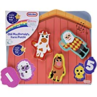 Little Tikes Baby Bum Musical Wooden Puzzle