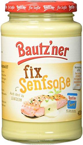 BAUTZ'NER Fix Senfsoße, 6er Pack (6 x 400 ml)