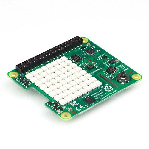 Raspberry Pi Sense HAT - 6 センサー、8x8 LEDマトリックス、ジョイスティック
