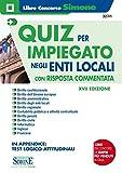Quiz per impiegato negli enti locali