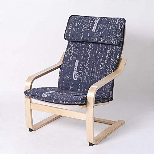 MissZZ Cojín reclinable con Respaldo Alto, cojín para tumbonas, Cojines para mecedoras, Cojines para sillones, Cojines para sillones de jardín, Patio, cojín para Asientos-g 135x55cm