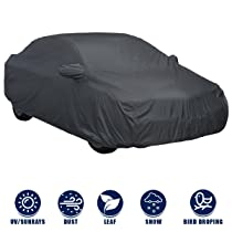 Kingsway Dust Proof Car Body Cover with Mirror Pockets