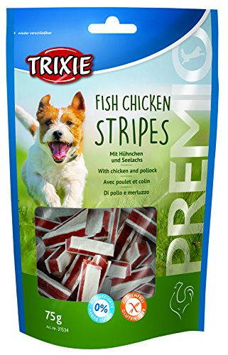 Trixie 31534 PREMIO Fish Chicken Stripes, 75 g