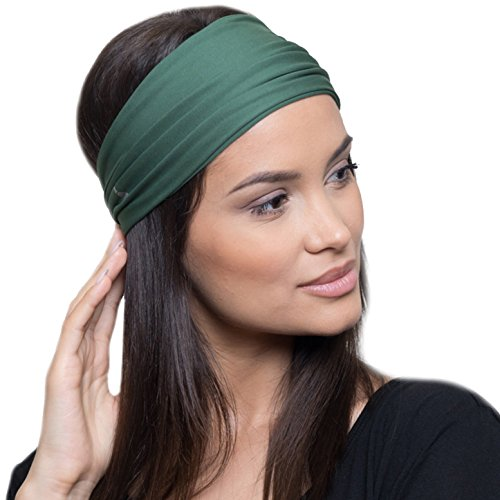 Yoga Headbands for Women/Sweatband for Sports, Workout or Running, Insulates and Absorbs Sweat, Head Bands for Girls from French Fitness Revolution