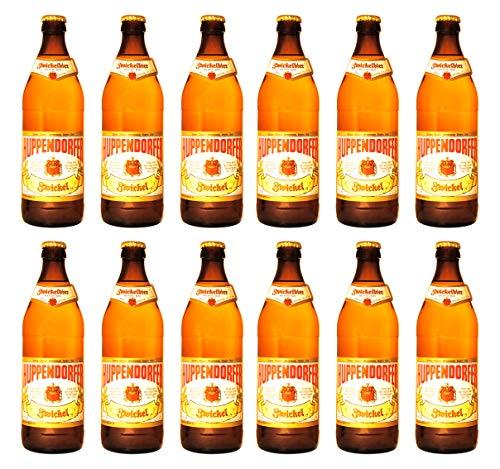 Brauerei Grasser - Huppendorfer Zwickel (12 Flaschen) I Bierpaket von Bierwohl