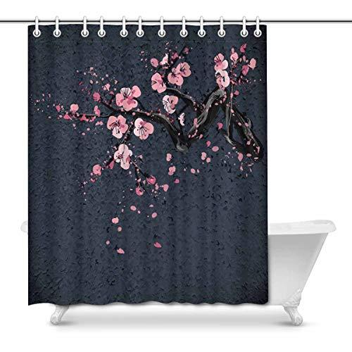 Dark Grey Japanese Cherry Sakura Blossom Tree