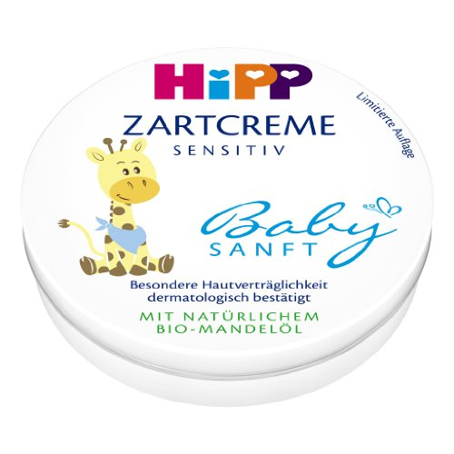 Hipp Babysanft Zartcreme, 3er Pack (3 x 75 ml)