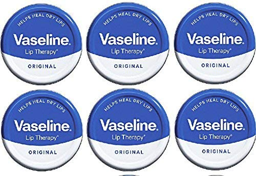 Vaseline Lip Balm 20g/0.705oz (6X20g/0.705oz, Original)