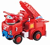 Super Wings - Jett's Robo Rig, Transforming Toy Vehicle Set, Includes Transform-A-Bot Jett Figure, 2' Scale