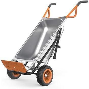 WORX Aerocart 8-in-1 Wheelbarrow / Yard Cart / Dolly