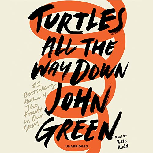 Turtles All the Way Down                   De :                                                                                                                                 John Green                               Lu par :                                                                                                                                 Kate Rudd                      Durée : 7 h et 12 min     11 notations     Global 4,1
