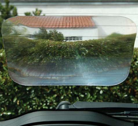 Weitwinkellinse 200x250 mm, selbsthaftend für bessere Sicht nach hinten