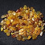 ABCBCA Piedras de Piedras Preciosas de Cristal Amarillo Natural de 100 g de Piedras Preciosas de Gemela Cristal (Size : 100g)