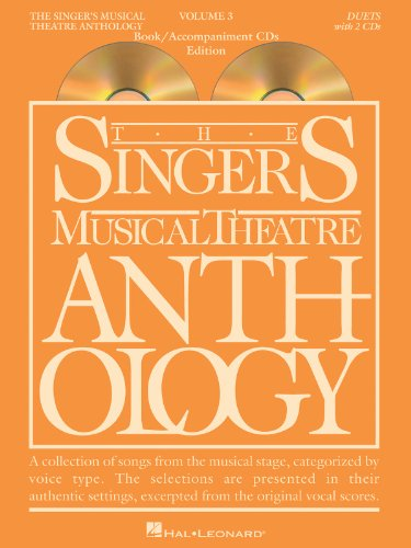 Singer's Musical Theatre Anthology Duets Volume 3: Book/CDs