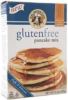 King Arthur Flour Gluten Free Pancake Mix 15 Oz (Pack of 1)