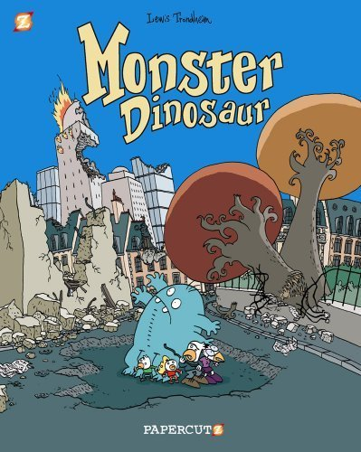Monster Graphic Novels: Monster Dinosaur by Lewis Trondheim (2012-07-03)