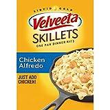 Six 12.5 oz boxes of Velveeta Skillets Chicken Alfredo Dinner Kit