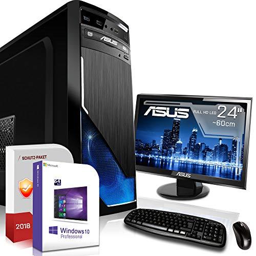 gaming pc mit monitor und tastatur