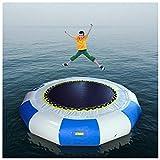 Amiao 10ft Splash Gepolstert Wasser Türsteher Aufblasbar Wasser Trampolin Schwimmen Plattform zum...