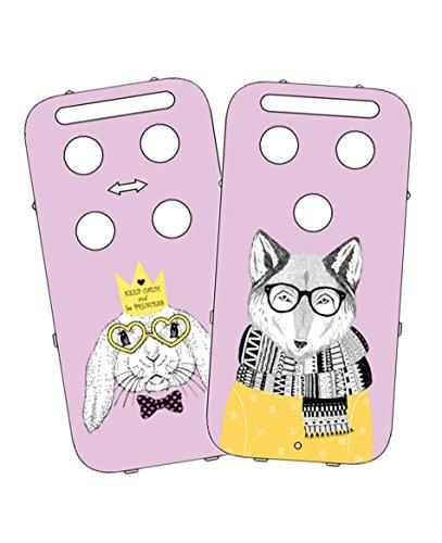 Vital Innovations 328288 _ Bunny capidi Housse pour babyphone Rose