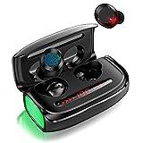 Wireless Bluetooth Kopfhörer, In Ear Ohrhörer mit【3000 mAh Ladebox】 Deep Bass 170h Spielzeit