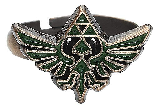 The Legend of Zelda – Anillo logo Triforce verde