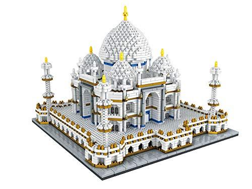 3D Taj Mahal Rompecabezas de Bloques de construcción, Diamantes en Miniatura Arquitectura pequeña Modelo de Bricolaje Juguetes 3950pcs (8