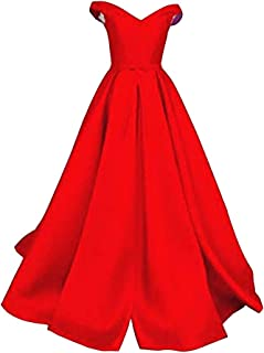 Emmani Womens V Neck Lace Up Back Tulle Evening Dress Elegant Long Party Evening Gown